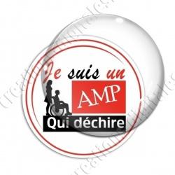 Image digitale - AMP qui déchire 2 - Rouge