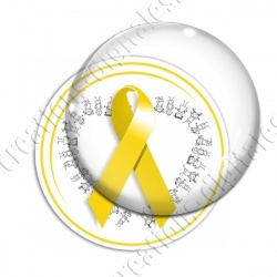 Image digitale - Ruban jaune- Endométriose