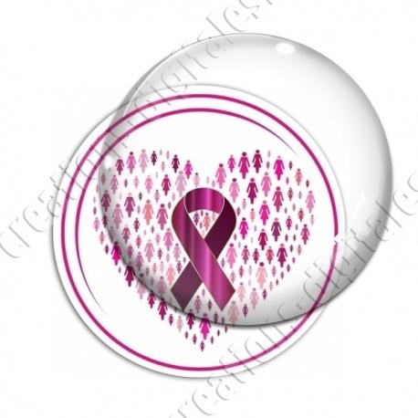 Image digitale - Ruban rose- Cancer du sein 01