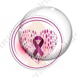 Image digitale - Ruban rose- Cancer du sein 02