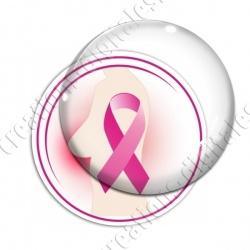 Image digitale - Ruban rose- Cancer du sein 03