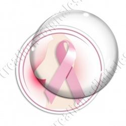 Image digitale - Ruban rose- Cancer du sein 04