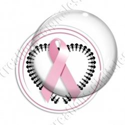 Image digitale - Ruban rose- Cancer du sein 05