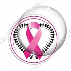 Image digitale - Ruban rose- Cancer du sein 07