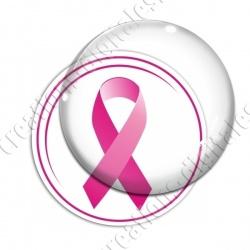 Image digitale - Ruban rose- Cancer du sein 08