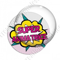 Image digitale - Comics - Super animatrice 01