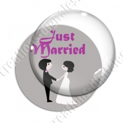 Image digitale - Just Married