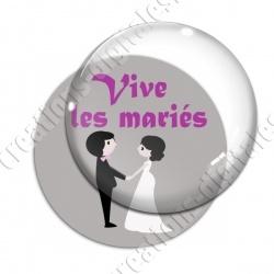 Image digitale - Vive les mariés