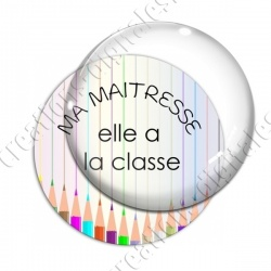 Image digitale - Maitresse elle a la classe