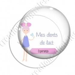 Image digitale - Personnalisable - Mes dents de lait 01