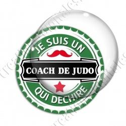 Image digitale - Je suis un coach de judo qui déchire - capsule