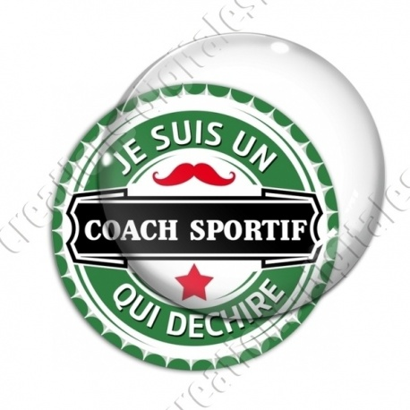 Image digitale - Je suis un coach sportif qui déchire - capsule