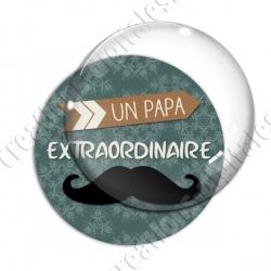 Image digitale - Un papa extraordinaire- moustache