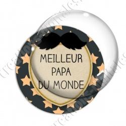 Image digitale - Meilleur papa du monde - Moustache 02