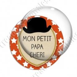 Image digitale - Mon petit papa chéri - Chapeau