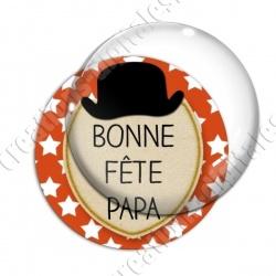 Image digitale - Bonne fête papa - Chapeau