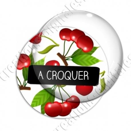 Image digitale - Cerises - à croquer