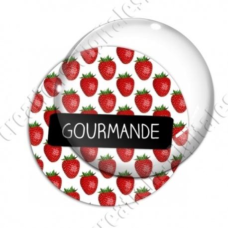 Image digitale - Gourmande - Fraises