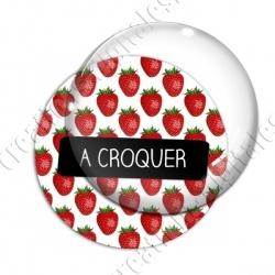 Image digitale - A croquer - Fraises