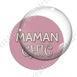Image digitale - Maman chic