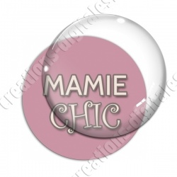 Image digitale - Mamie chic