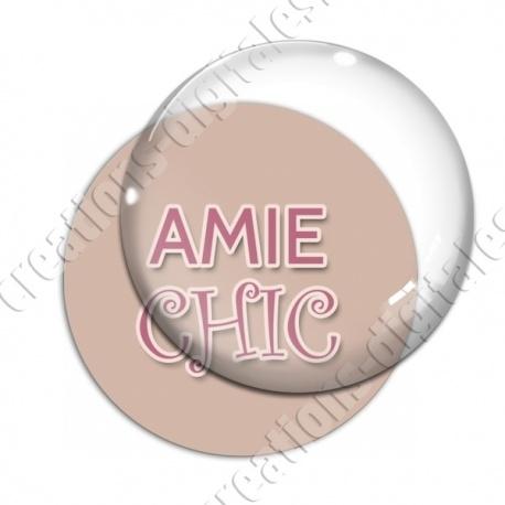 Image digitale - Amie chic
