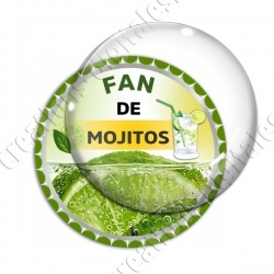 Image digitale - Fan de mojito - Capsule