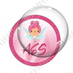 Image digitale - Fée rose 02 - AES