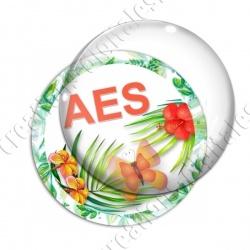 Image digitale - Tropical papillon - AES