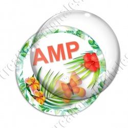 Image digitale - Tropical papillon - AMP