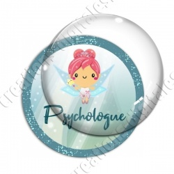 Image digitale - Fée turquoise - Psychologue