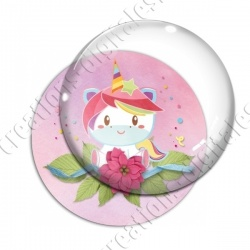 Image digitale - Happy birthday - licorne 01