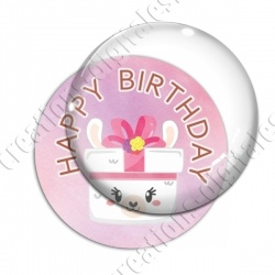 Image digitale - Happy birthday - cadeau