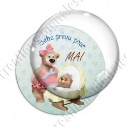 Image digitale - Bébé garçon- Mai