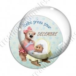 Image digitale - Bébé garçon- Décembre