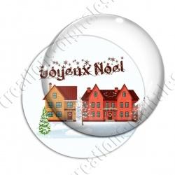 Image digitale - Joyeux noël - Maisons 01