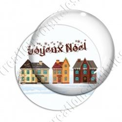 Image digitale - Joyeux noël - Maisons 02
