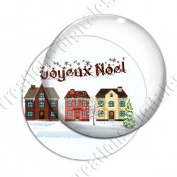 Image digitale - Joyeux noël - Maisons 03