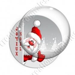 Image digitale - Joyeux noël - Père Noël