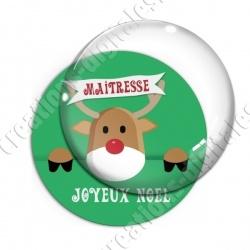 Image digitale - Maitresse - Joyeux noel renne