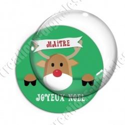 Image digitale - Maitre - Joyeux noel renne