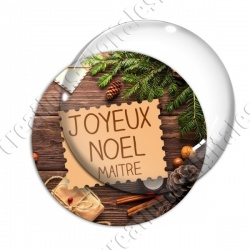 Image digitale - Maitre - Joyeux noel  épicé