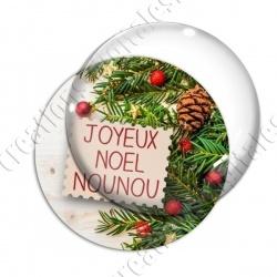 Image digitale - Nounou- Joyeux noel  sapin