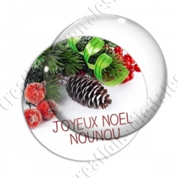 Image digitale - Nounou- Joyeux noel  pin