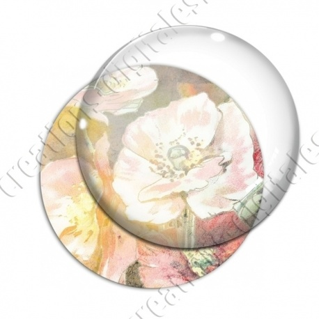 Image digitale - Fond fleurs pastel 01