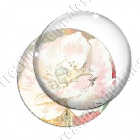 Image digitale - Fond fleurs pastel 01 zoom
