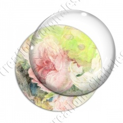 Image digitale - Fond fleurs pastel 02
