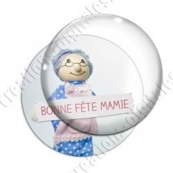 Image digitale - Bonne fête mamie - Poupée