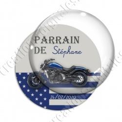 Image digitale - Parrain motard