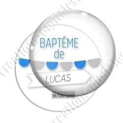 Image digitale - Baptême de - Fond blanc